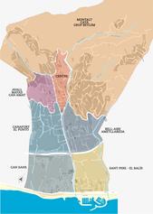 Plànol dels barris