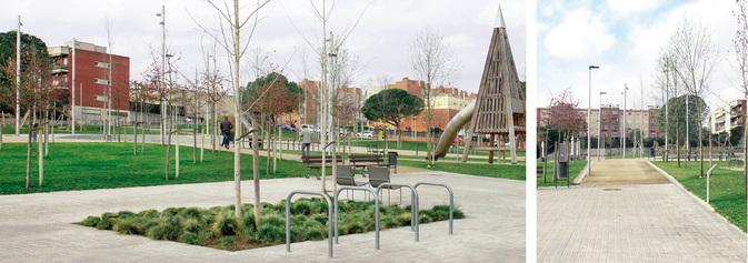 Opció A. Un parc obert, com fins ara