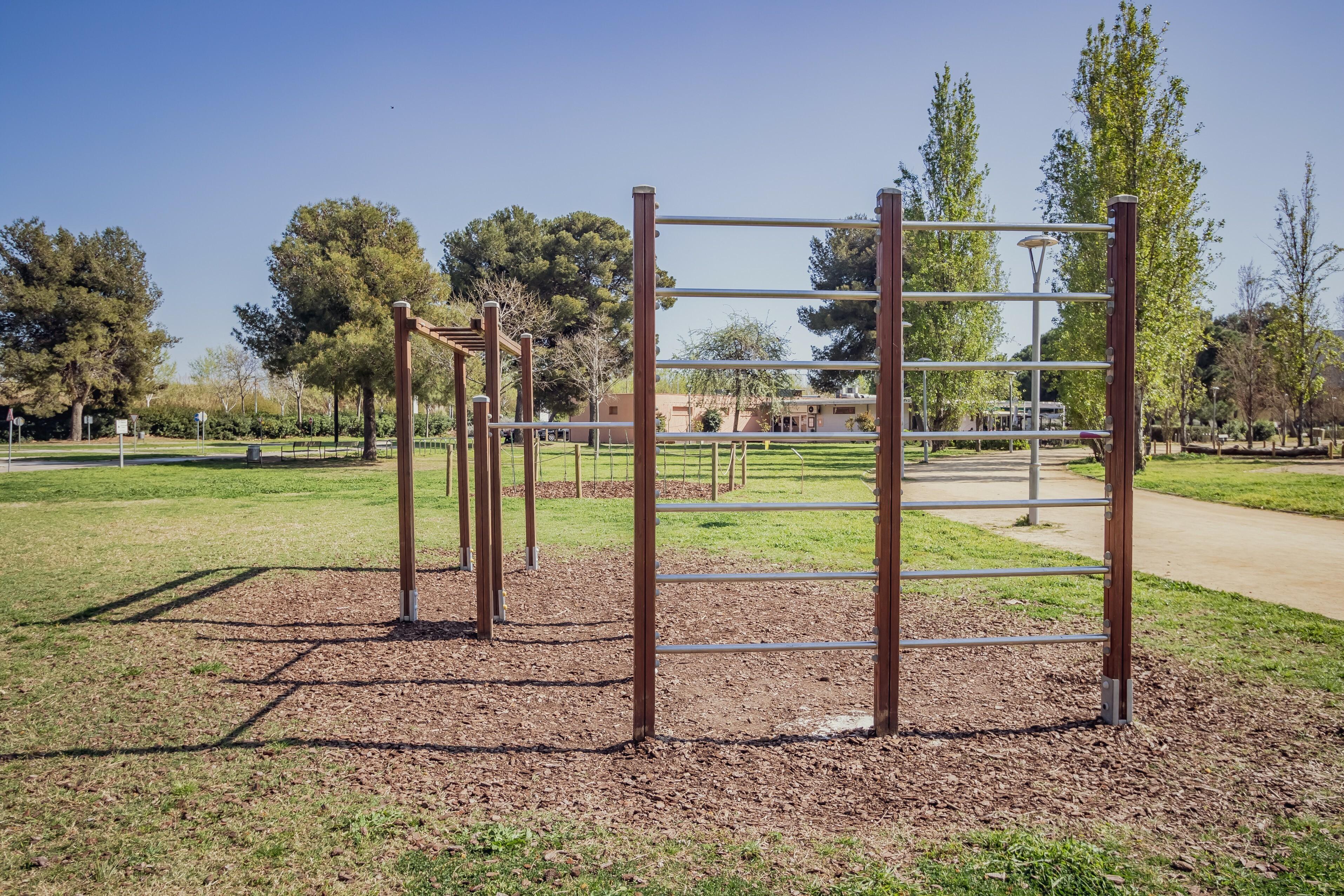 10.Instal•lar un espai d'entrenament a l'aire lliure als jardins d'Andalusia