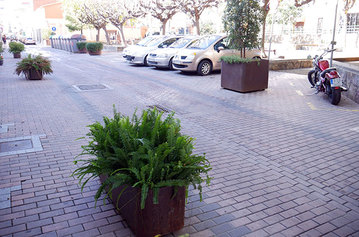 Reservar zona verda d'aparcament al nucli antic