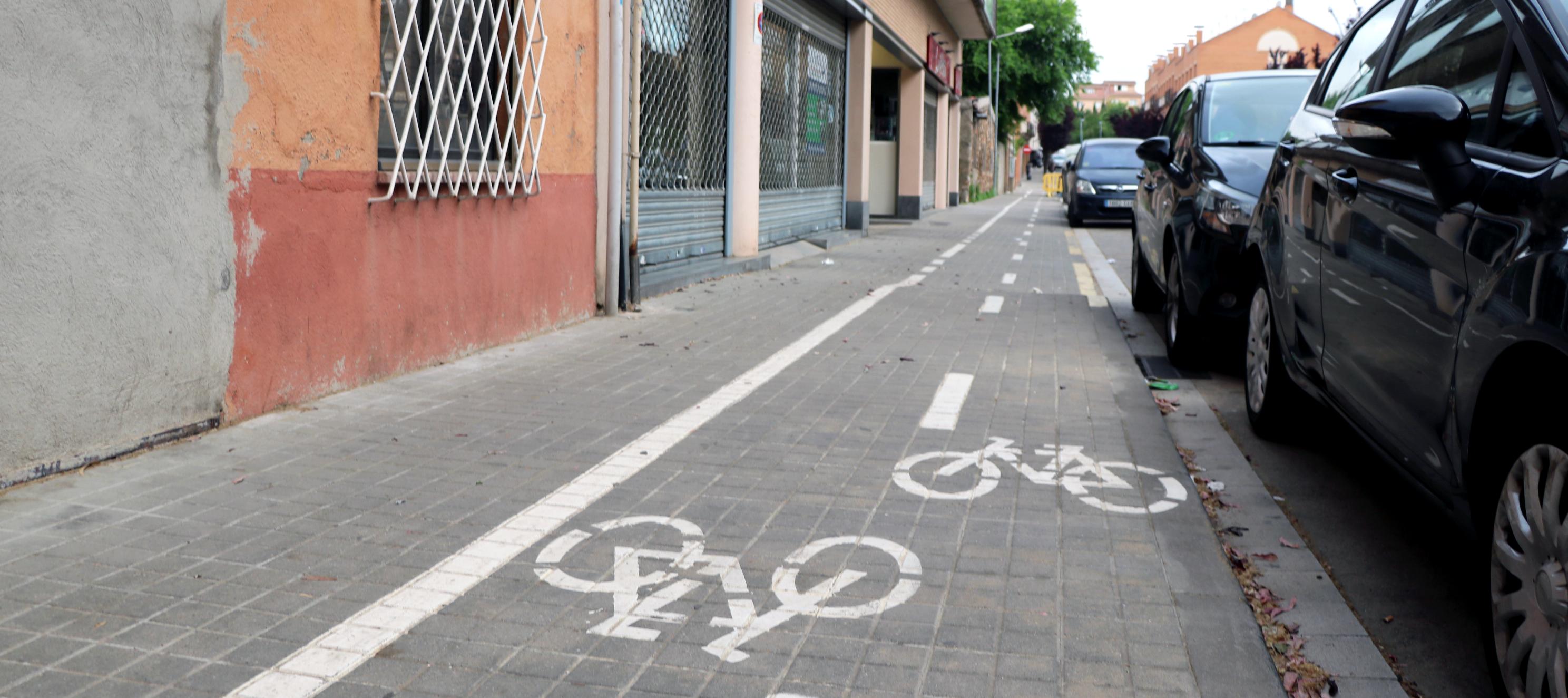Millora del carril bici