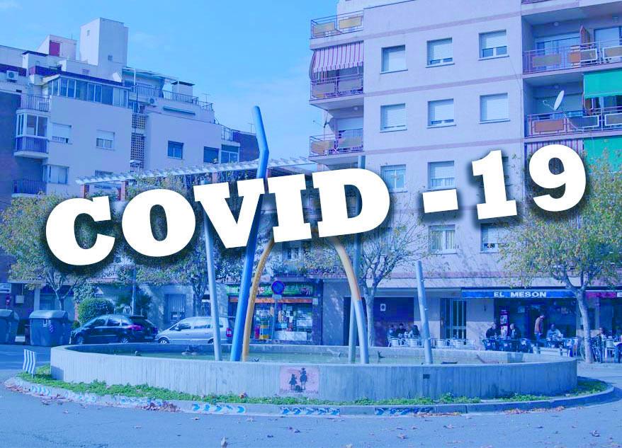 Escultura en record de les víctimes de la Covid-19