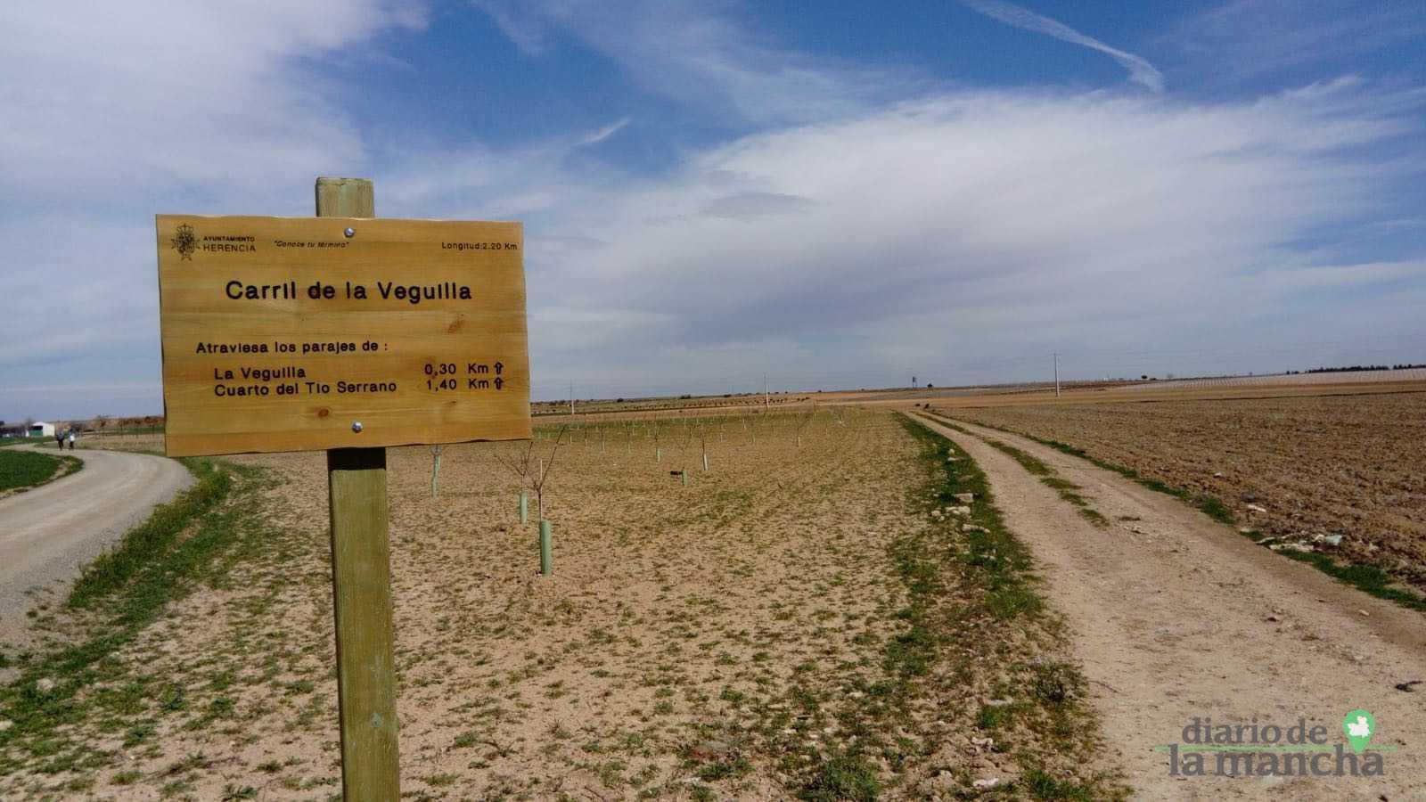 Señalización de los caminos de Ribes Blaves