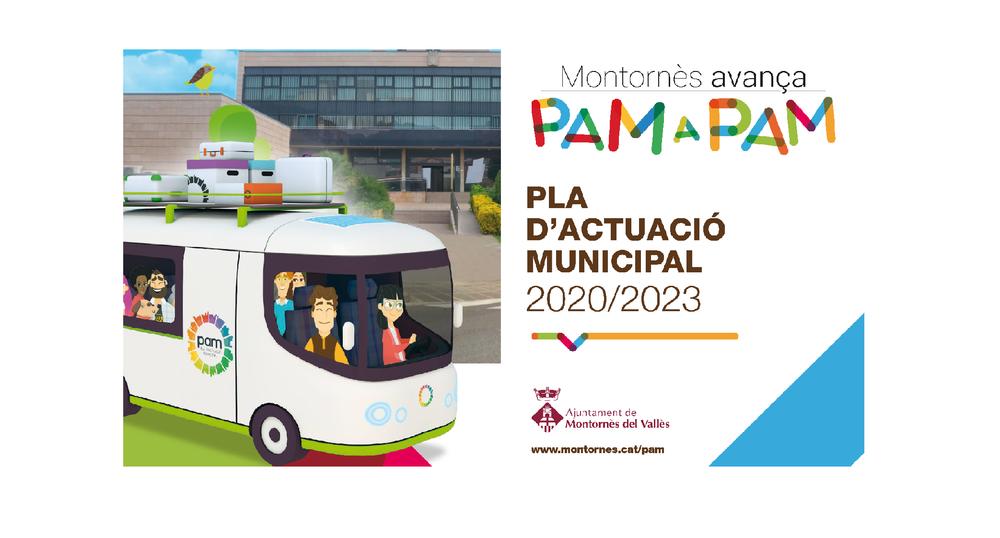 Pla d'Actuació Municipal 2020-2023