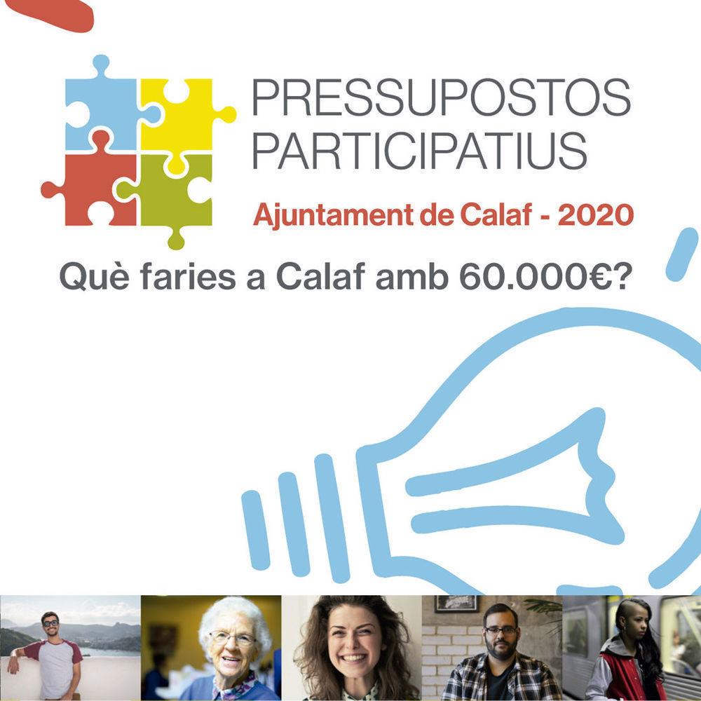 Pressupostos participatius Calaf 2020