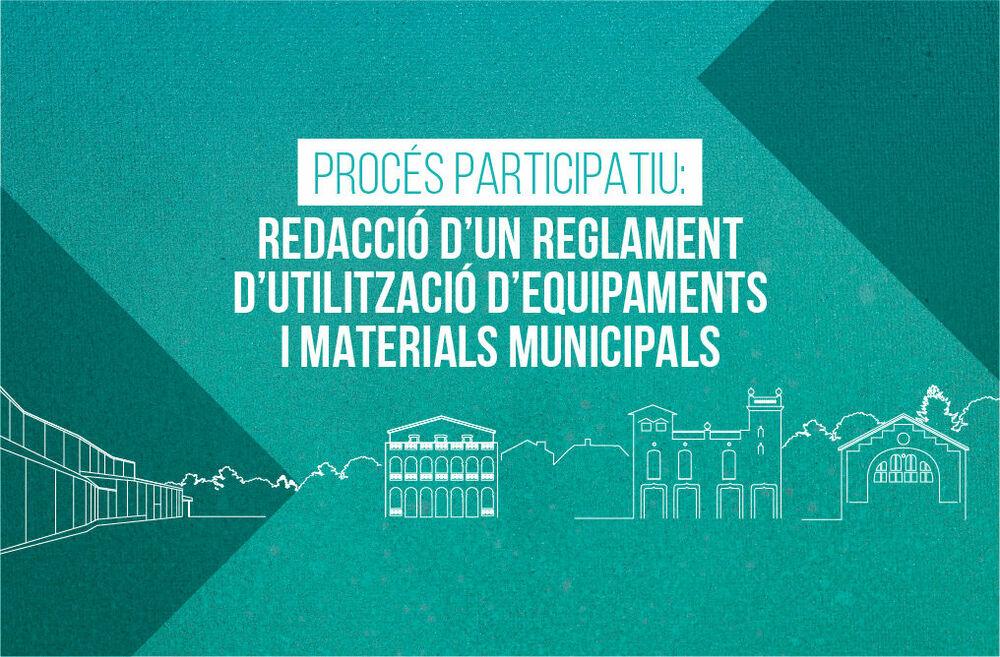 REGLAMENT D'UTILITZACIÓ DELS EQUIPAMENTS I MATERIALS MUNICIPALS DE BEGUES