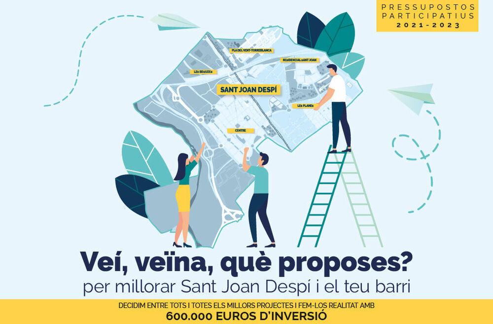 Pressupostos participatius Sant Joan Despí 2021-2023