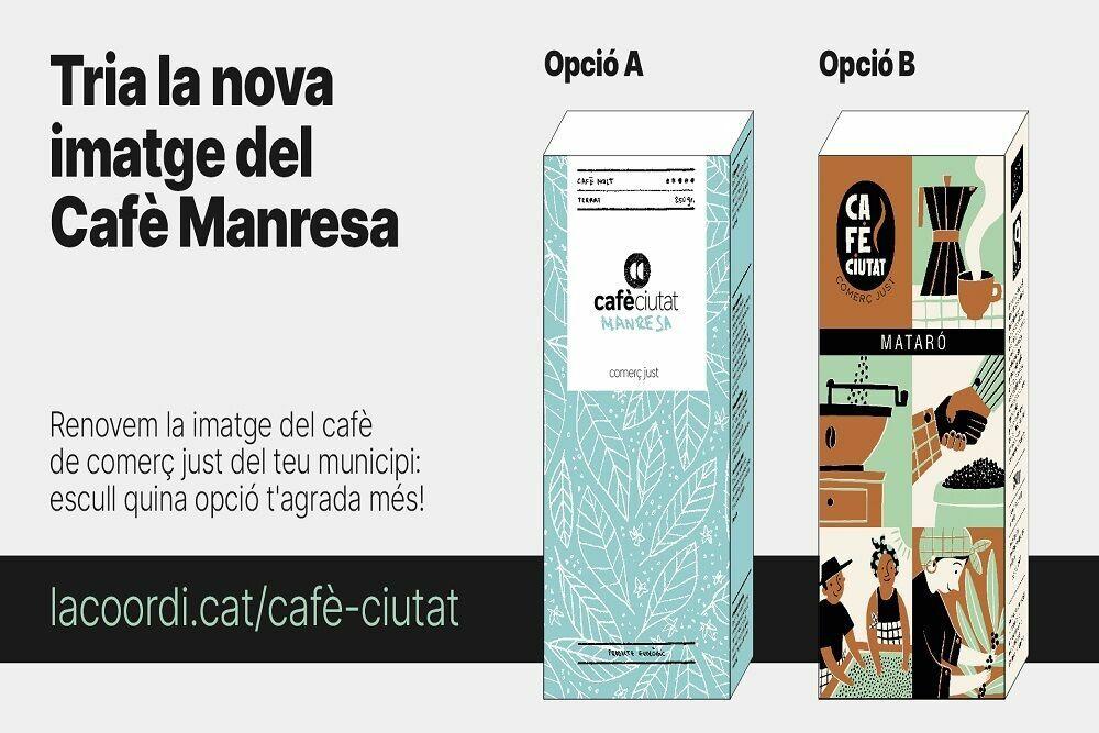 Tria la nova imatge del cafè del teu municipi